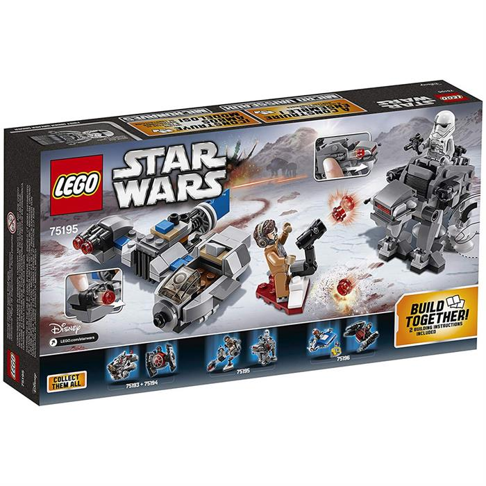 Lego Star Wars Ski S vs F Order Mic 75195