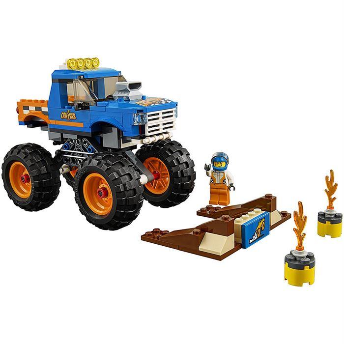 Lego City Canavar Kamyon 60180 Yardimci Kitaplar