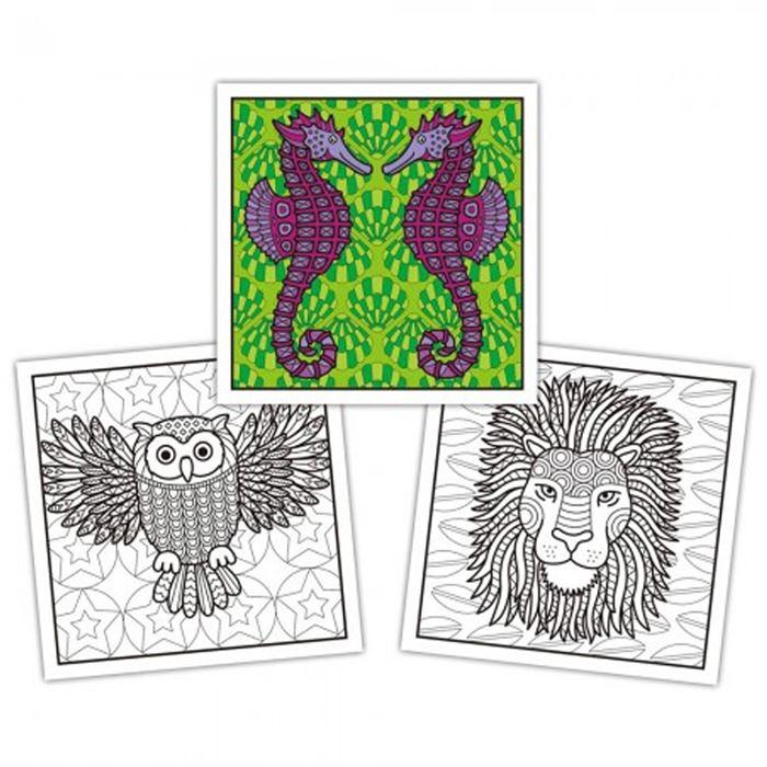 Animal Pattern Book 3 Yas Yardimci Kitaplar