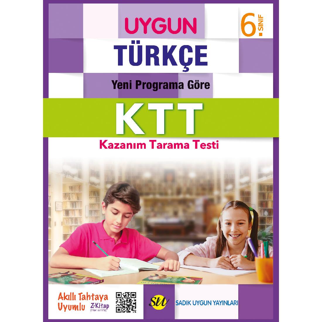 6.Sınıf Ktt Türkçe Sadık Uygun Yayınları