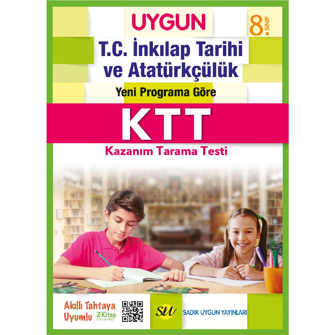 8.Sınıf Ktt İnkılap Tarihi Ve Atatürkçülük  Sadık Uygun Yayınları