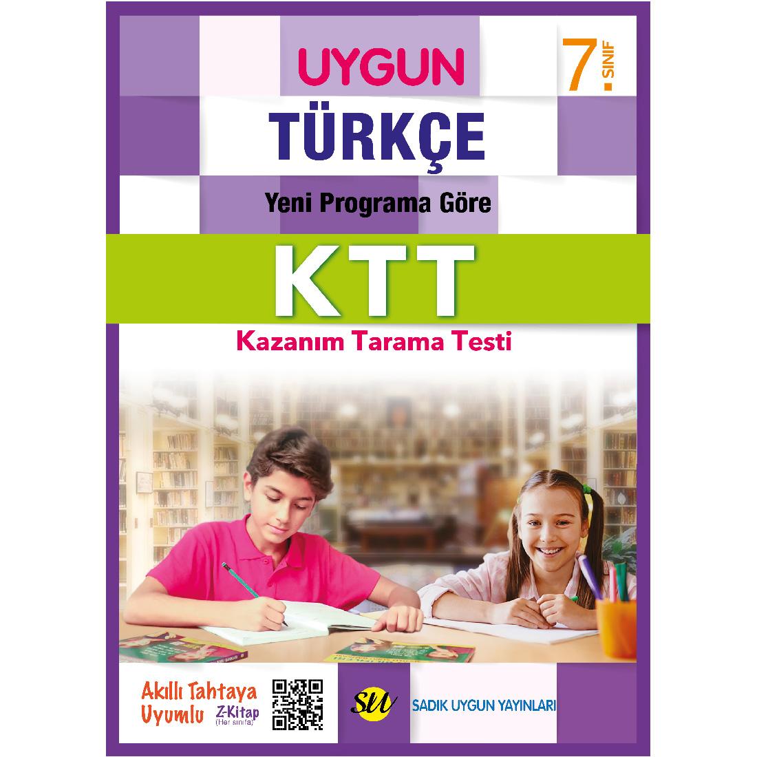 7.Sınıf Ktt Türkçe Sadık Uygun Yayınları