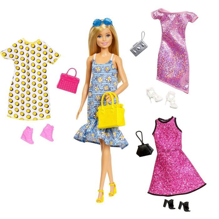 Barbie Moda Kiyafet Kombini Oyun Seti Gdj40 Yardimci Kitaplar