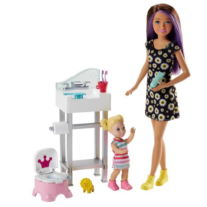 Barbie Bebek Bakiciligi Oyun Seti Fhy97 Fxh05 Yardimci Kitaplar