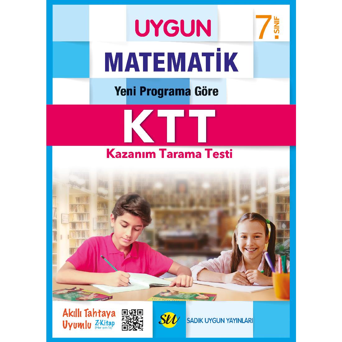 7.Sınıf Ktt Matematik  Sadık Uygun Yayınları