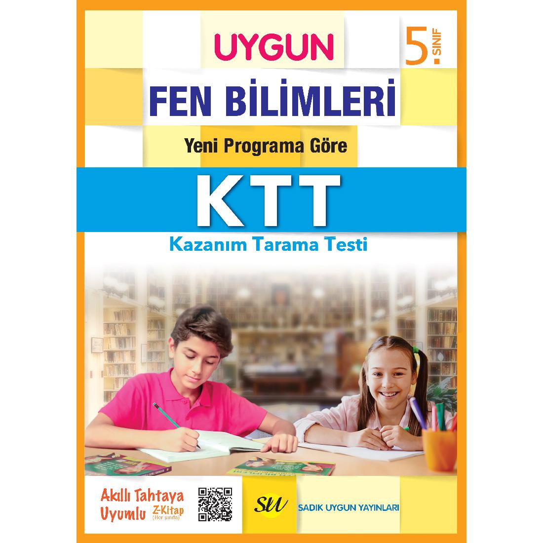 5.Sınıf Ktt Fen Bilimleri Sadık Uygun Yayınları