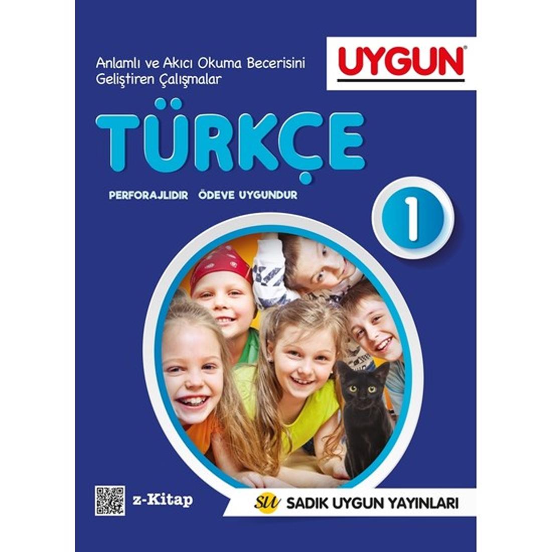 1.Sınıf Türkçe  Sadık Uygun Yayınları