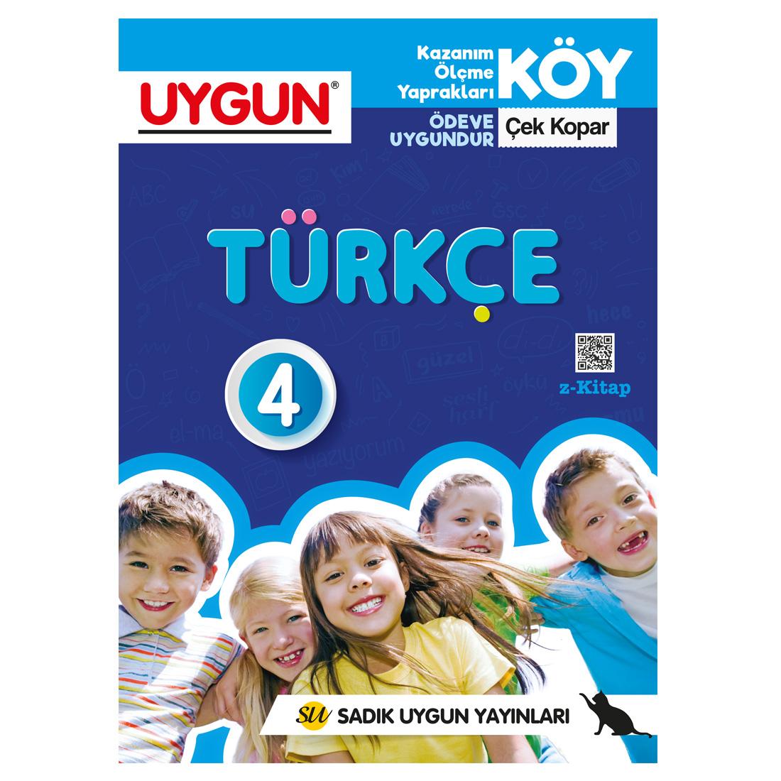 4.Sınıf Köy Türkçe  Sadık Uygun Yayınları