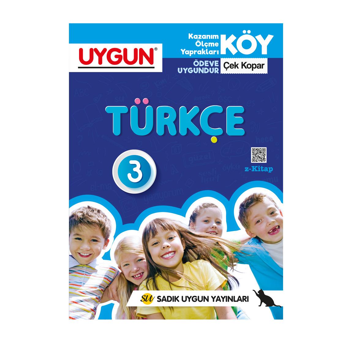 3.Sınıf Köy Türkçe  Sadık Uygun Yayınları