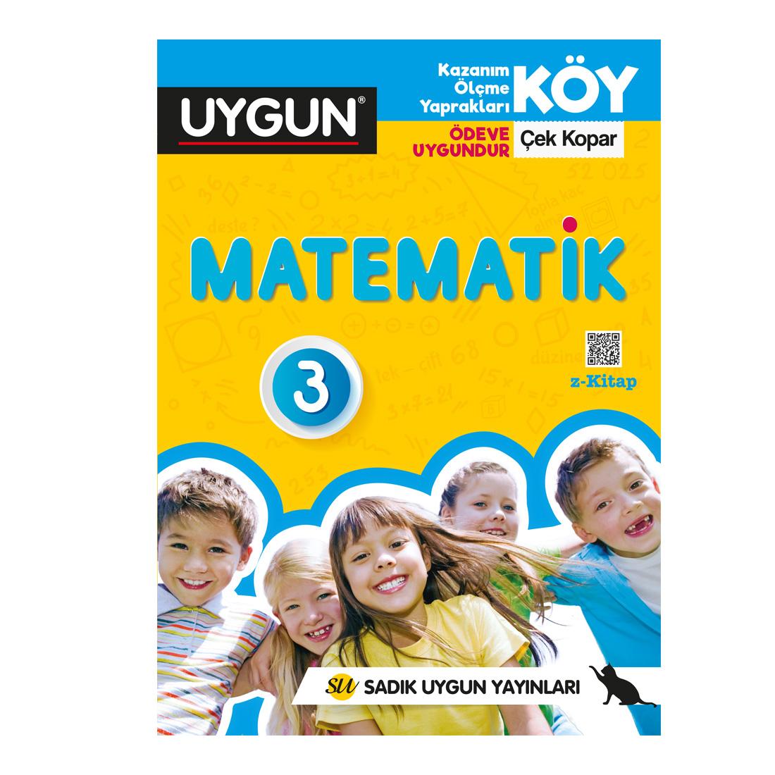 3.Sınıf Köy Matematik Sadık Uygun Yayınları