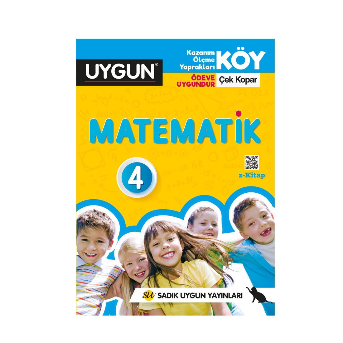 4.Sınıf Köy Matematik Sadık Uygun Yayınları
