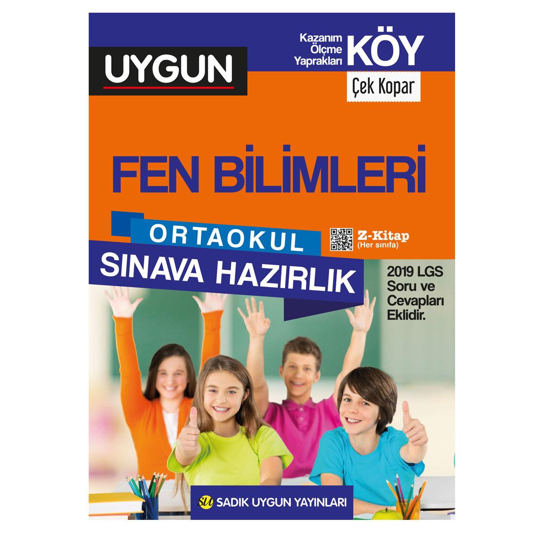 8.Sınıf Köy Fen Bilimleri Sadık Uygun Yayınları
