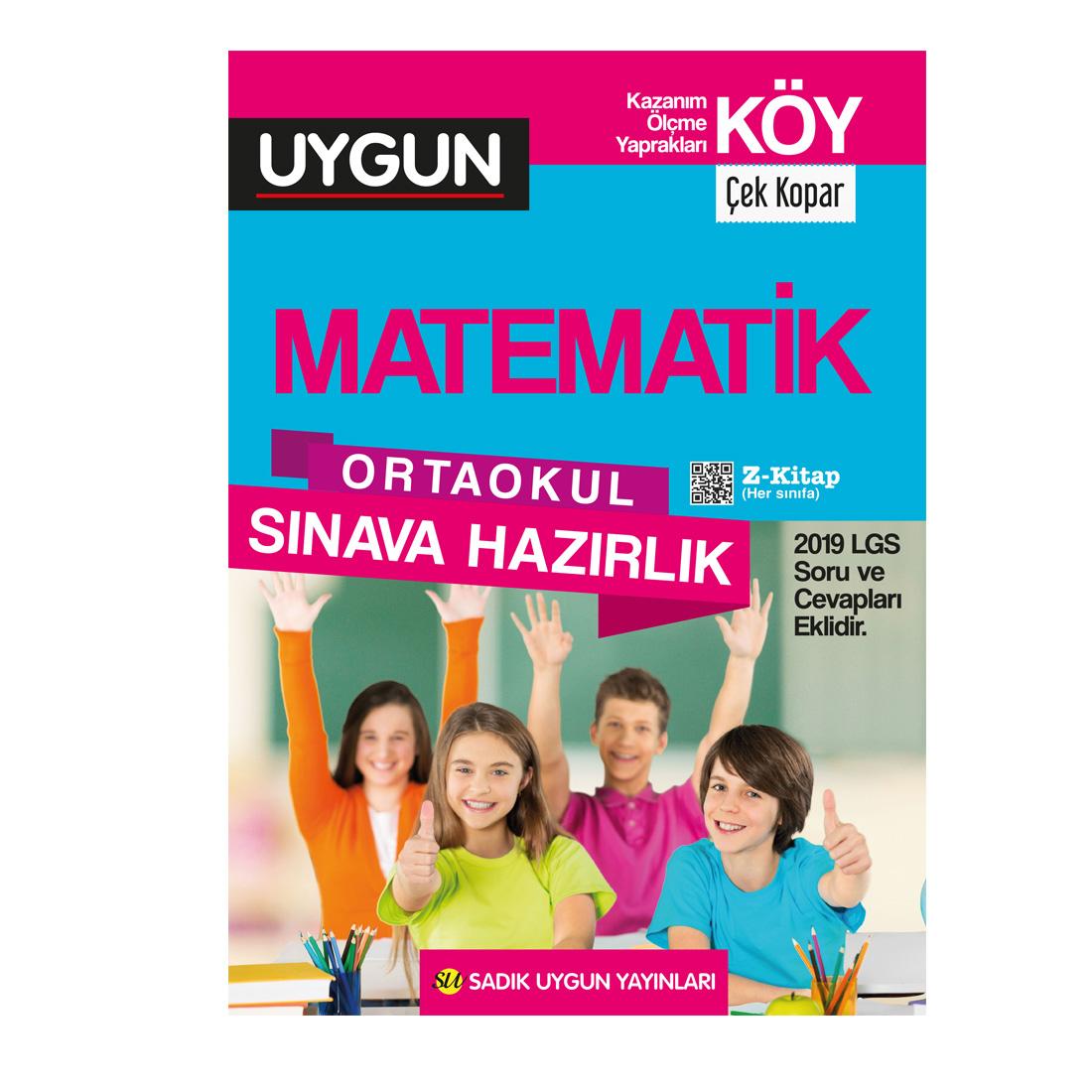 8.Sınıf Köy Matematik Sadık Uygun Yayınları