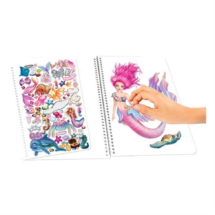 Top Model Mermaid Fantasy Boyama Kitabi 10472 Yardimci Kitaplar