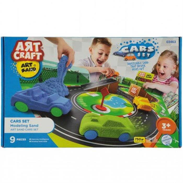 Art Craft Kinetic Arabalar Oyun Kumu Seti 3463