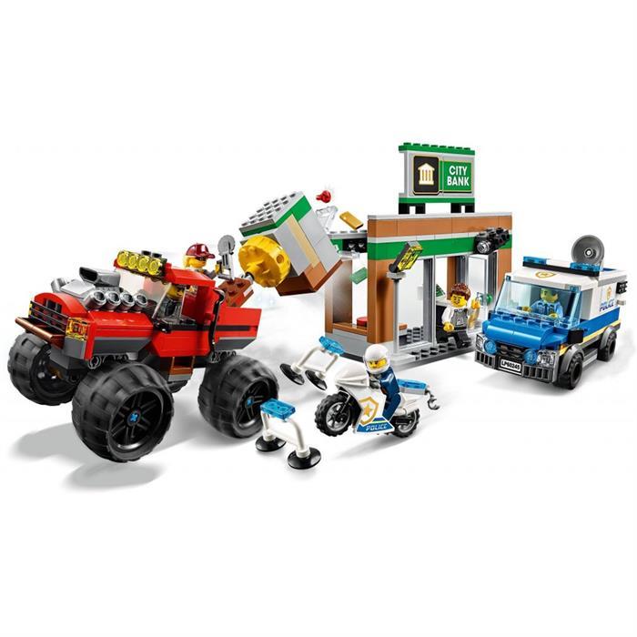 Lego City Canavar Kamyon 60245 Yardimci Kitaplar
