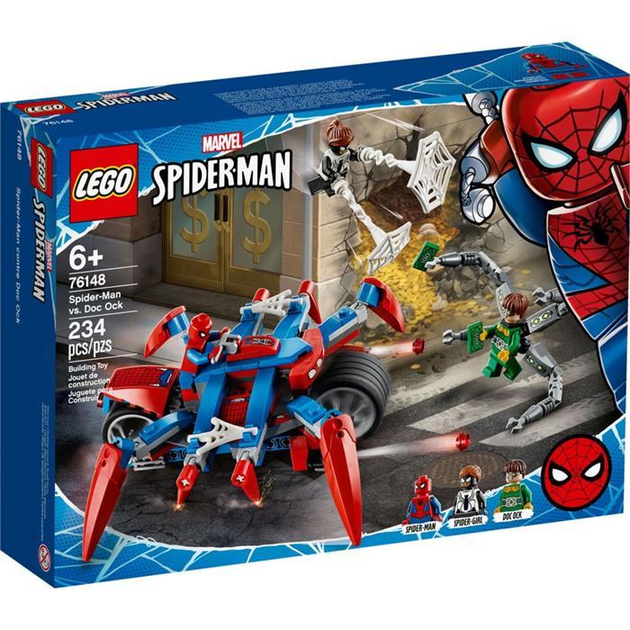 Legol Super Heroes Orumcek Adam Bisikleti 76148 Yardimci Kitaplar