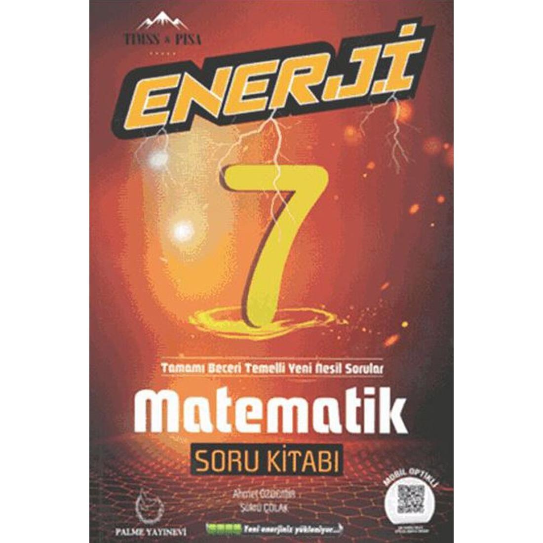 7.Sınıf Enerji Matematik Soru Kitabı Palme Yayınevi