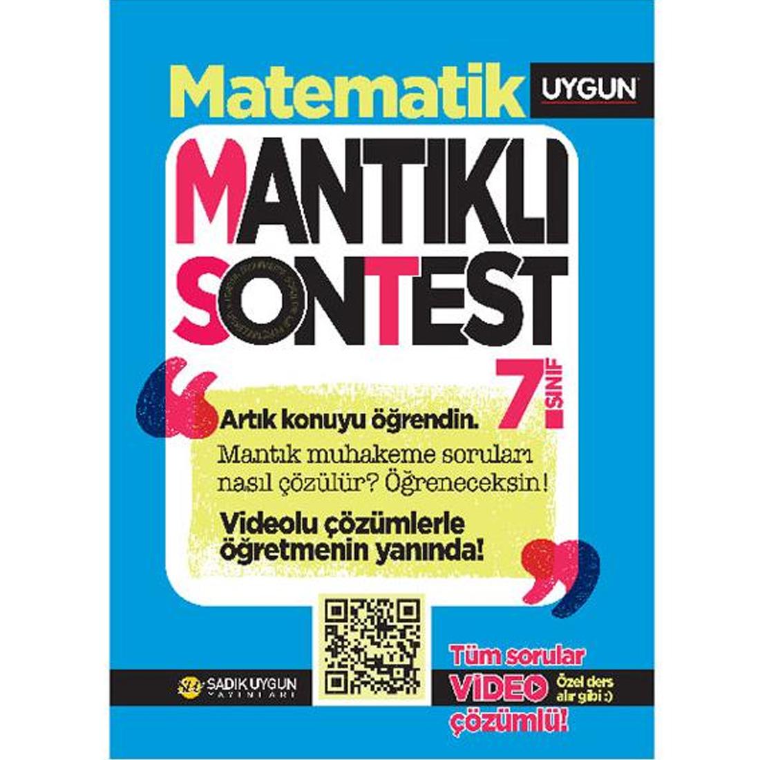 7.Sınıf Mantıklı Son Test Matematik  Sadık Uygun Yayınları