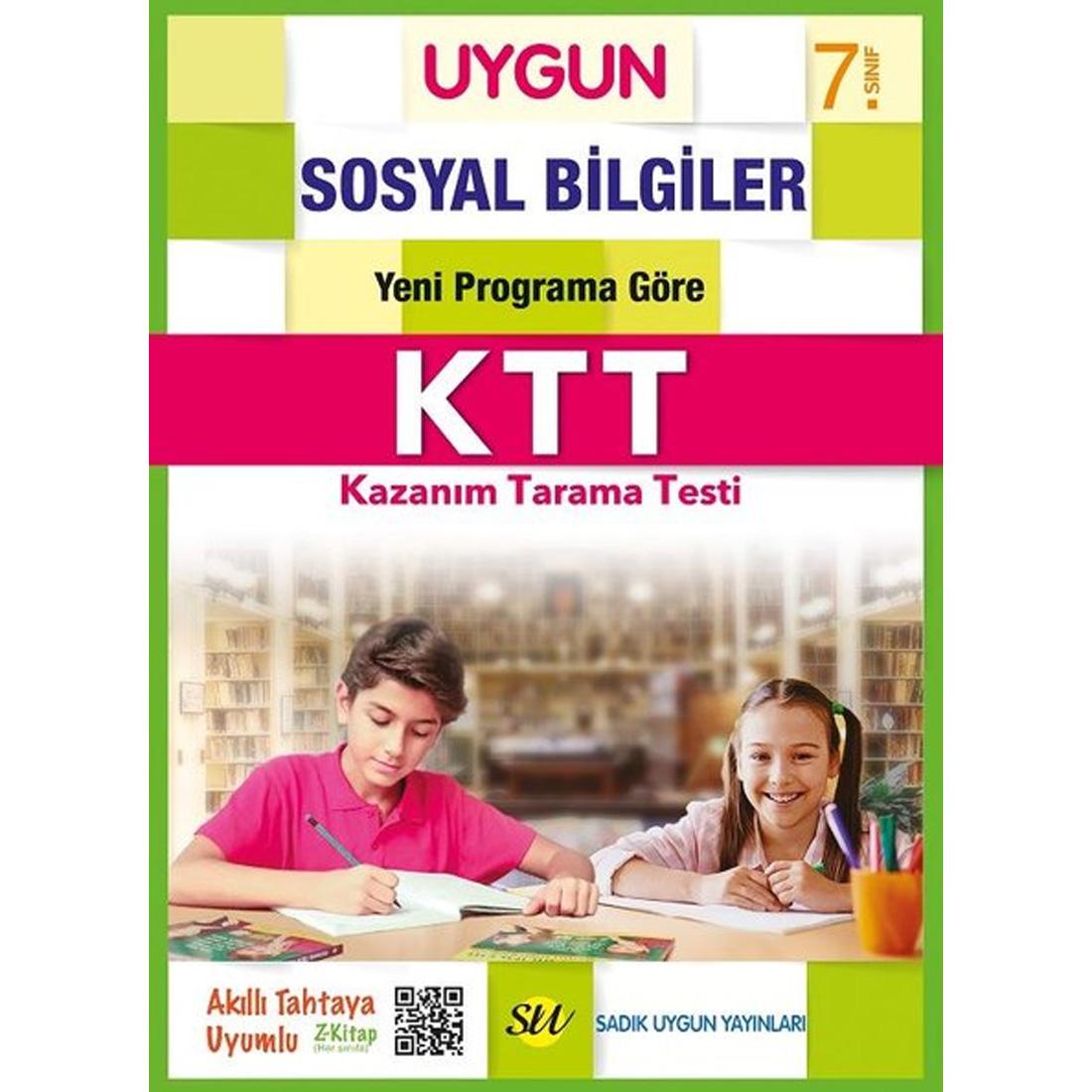 7.Sınıf Mantıklı Son Test Sosyal Bilgiler  Sadık Uygun Yayınları