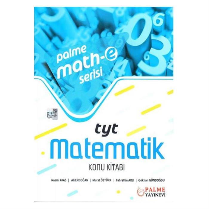 Math-E Serisi Yks Tyt Matematik Konu Kitabı Palme Yayınevi