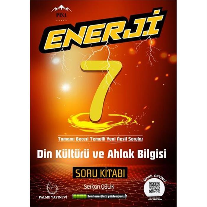 7.Sınıf Enerji Din Kültürü Soru Kitabı Palme Yayınevi